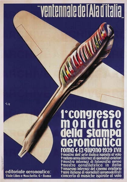I° Congresso Mondiale della Stampa Aeronautica