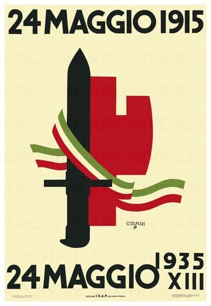 24 maggio 1915 - 24 maggio 1935. Ventennale dell'ingresso in guerra