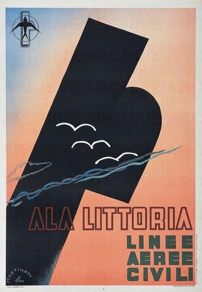 Ala Littoria. Linee Aeree Civili