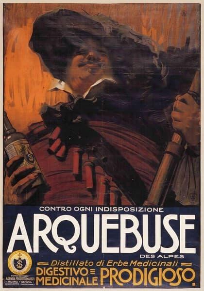 Arquebuse. Distillato di erbe medicinali