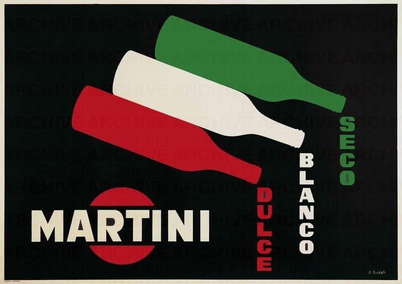 Martini- Dulce, Blanco, Seco