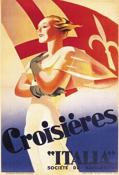 """Croisières """"Italia"""" Societé de Navigation"""