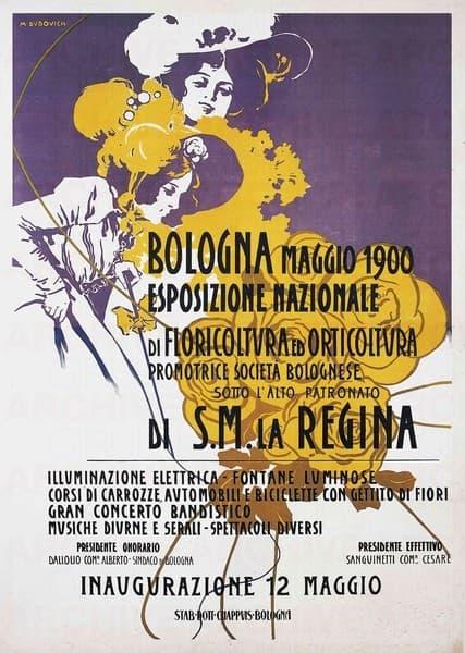 Esposizione Nazionale di floricoltura ed orticoltura. Bologna Maggio 1900
