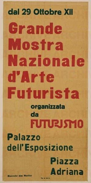 Grande Mostra Nazionale D'Arte Futurista