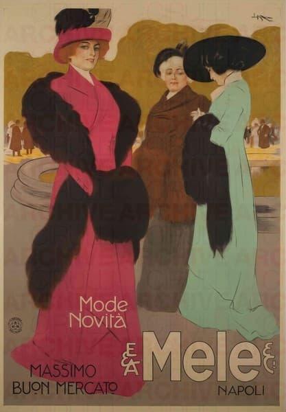 E. & A. Mele & Ci. Napoli. Mode novità. Massimo buon mercato