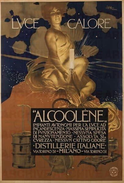 Luce e Calore. 'Alcoolène'