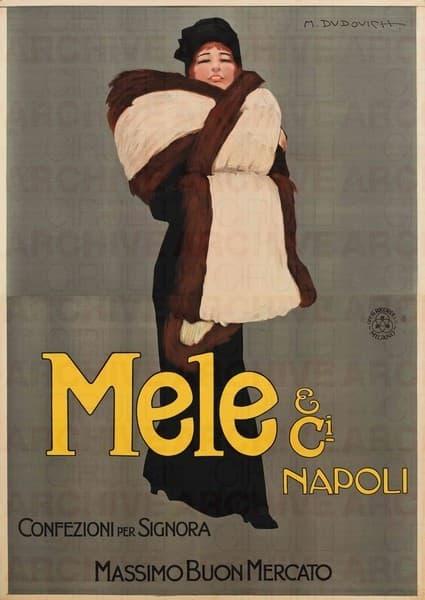 Mele & Ci. Napoli. Confezioni per Signora. Massimo buon mercato
