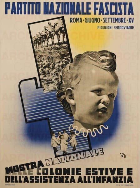 Partito Nazionale Fascista. Mostra nazionale delle colonie estive e dell'assistenza all'infanzia