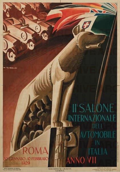 II° Salone Internazionale dell'Automobile in Italia
