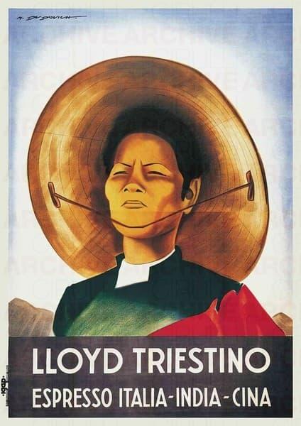 Lloyd Triestino Espresso Italia-India-Cina