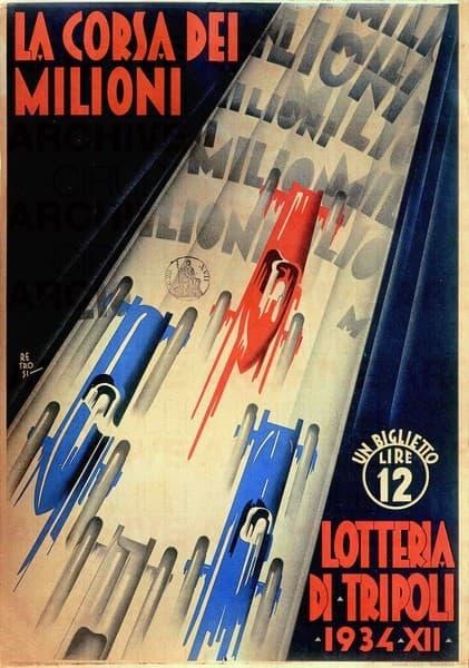 Lotteria di Tripoli. La corsa dei milioni