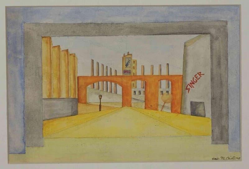Molto Massimo and Sonia Cirulli Archive | Studio per scenografia  JZ23