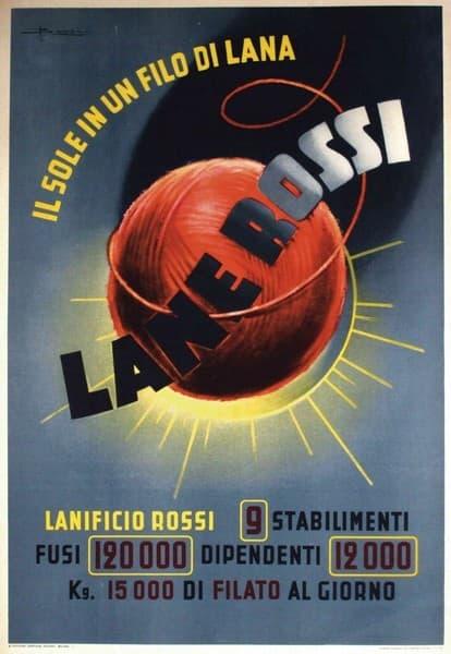 Lane Rossi. Il sole in un filo di lana