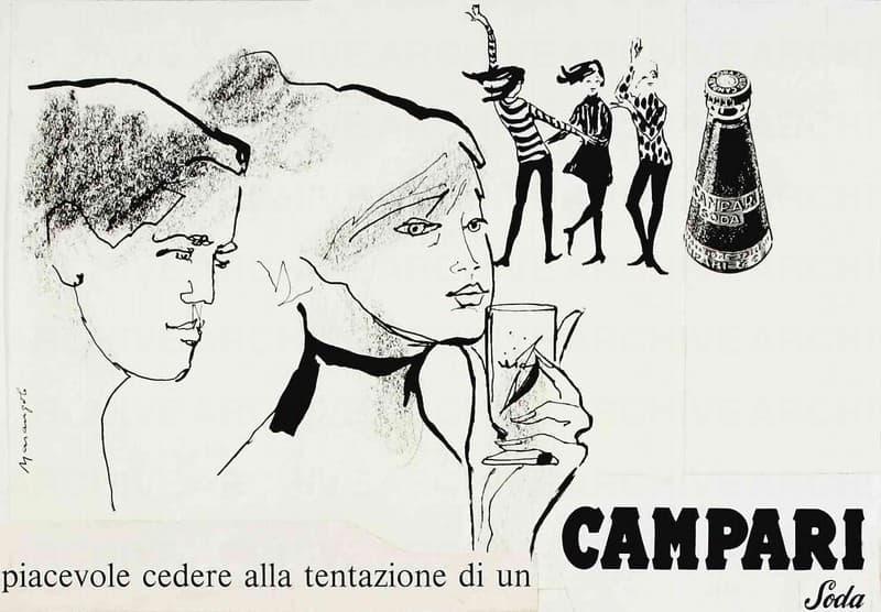 Studio per pubblicità Campari  Piacevole cedere alla tentazione di un Campari Soda