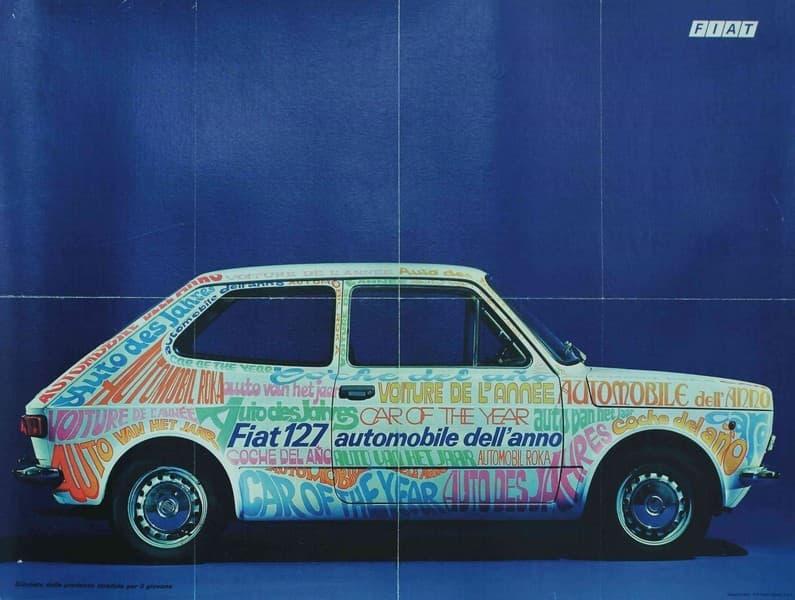 Fiat 127 automobile dell'anno