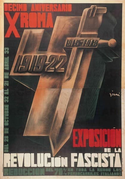 Exposiciòn de la Revoluciòn Fascista