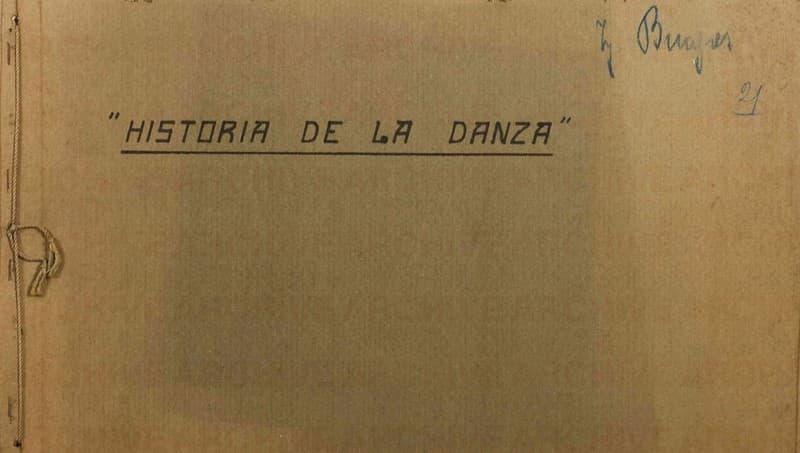Esposizione Universale di Roma 1942 Progetto per Attrazione Teatrale Historia de la Danza