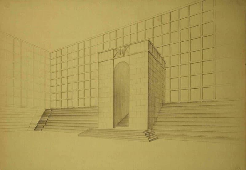 Esposizione Universale di Roma 1942 Studio per architettura