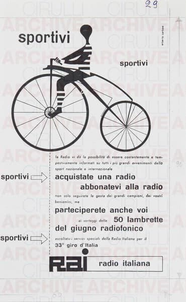 Rai Radio Italiana 33° Giro d'Italia
