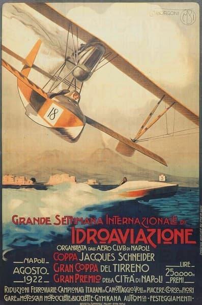 Grande Settimana Internazionale di Idroaviazione. Aero Club di Napoli