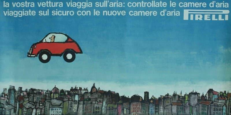 Camere d'aria Pirelli. La vostra vettura viaggia sull'aria...