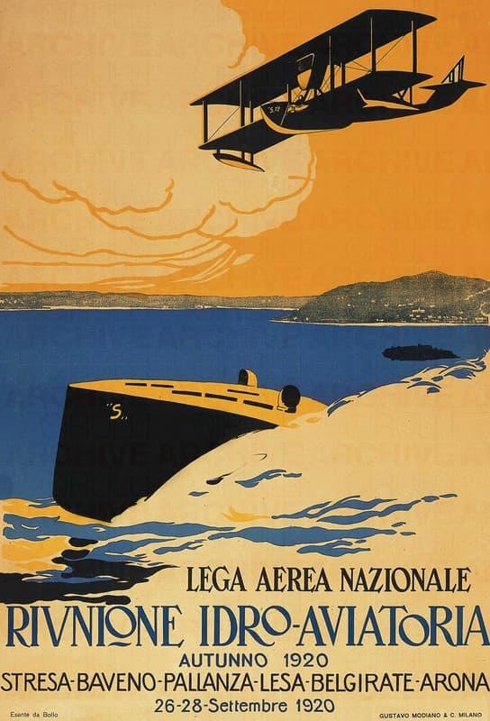 Lega Aerea Nazionale. Riunione Idro-Aviatoria