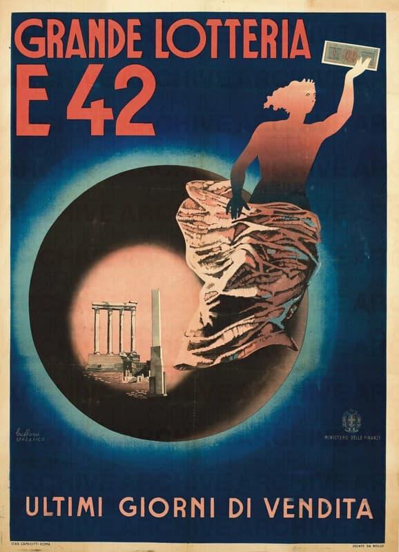 Esposizione Universale di Roma 1942 Grande lotteria E42