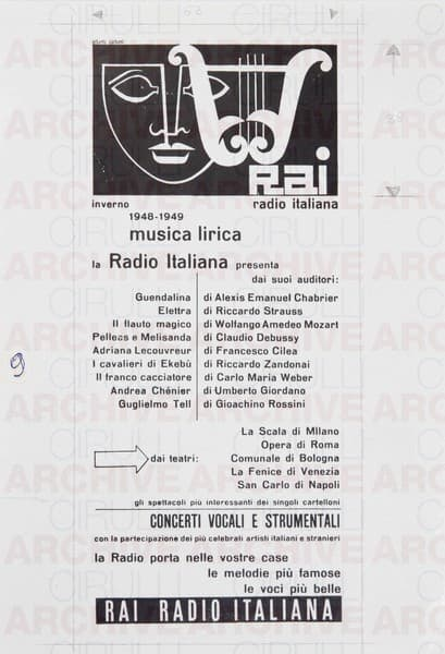 Rai Radio Italiana Musica Lirica 1948-1949