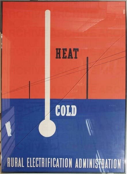 Heat Cold. Rural Electrification Administratio U.S.Department of Agriculture