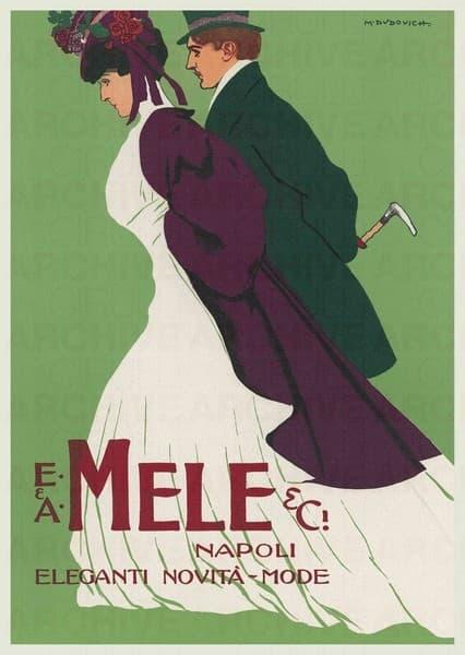 E. & A. Mele & Ci. Napoli. Eleganti novità