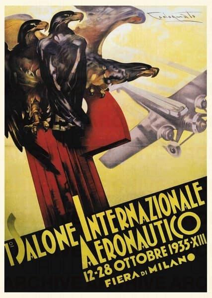 I° Salone Internazionale Aeronautico - Fiera di Milano