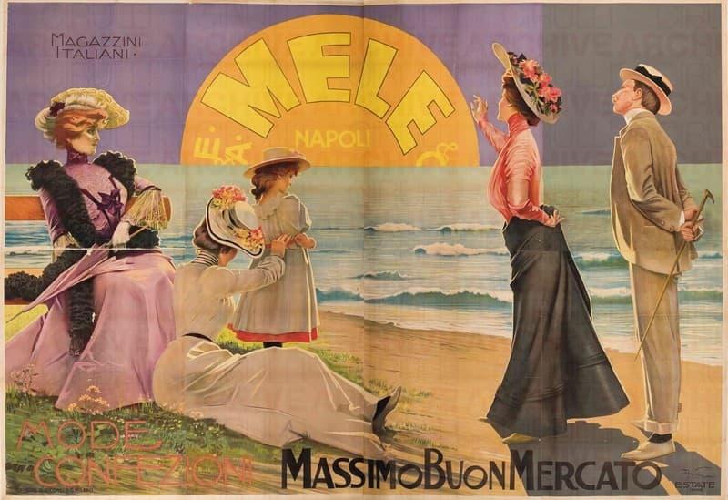 Magazzini Italiani E.& A. Mele & Ci. Napoli. Massimo buon mercato