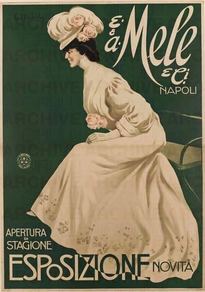 E. & A. Mele & Ci. Napoli. Apertura di stagione. Esposizione novità
