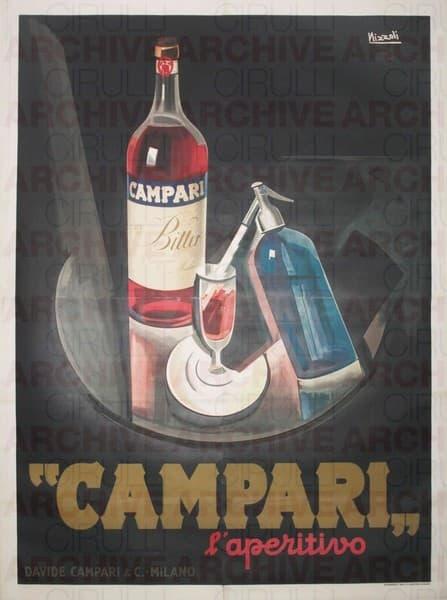 """Campari""  l'aperitivo"