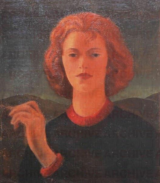 Ritratto di Elisabeth Chaplin
