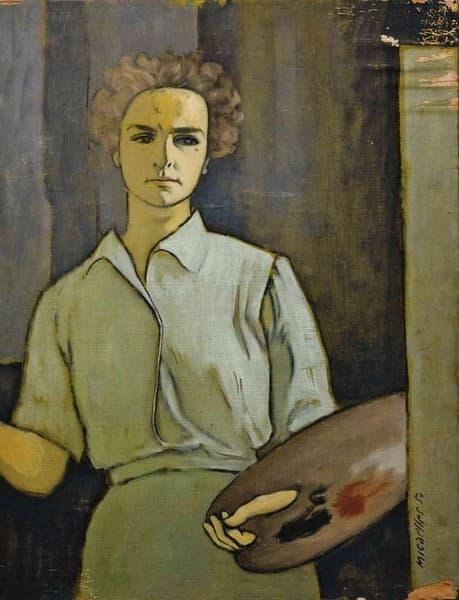 Ritratto della moglie Lia
