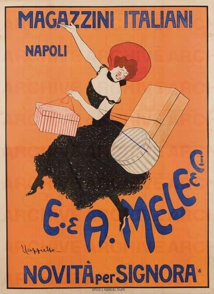 """Magazzini Italiani Napoli """"E. & A. Mele & C."""" Novità per Signora"""