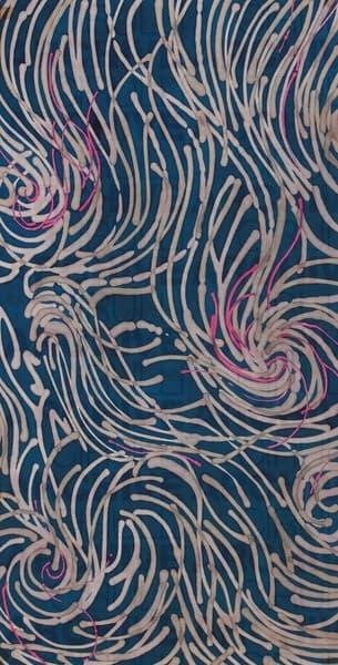 Progetto grafico di tessuto per Triennale di Milano