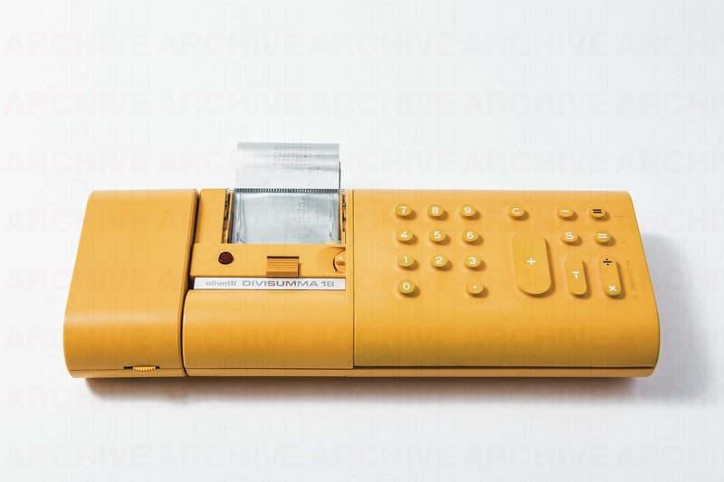 Calcolatrice elettrica Divisumma 18, Olivetti