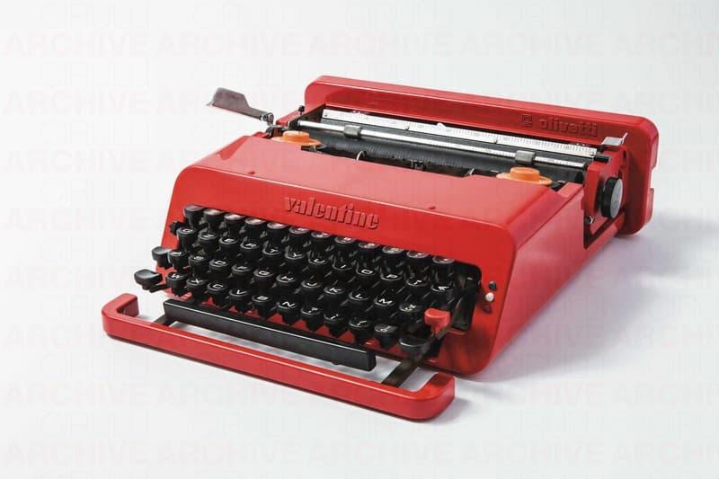 Macchina da scrivere portatile Valentine, Olivetti