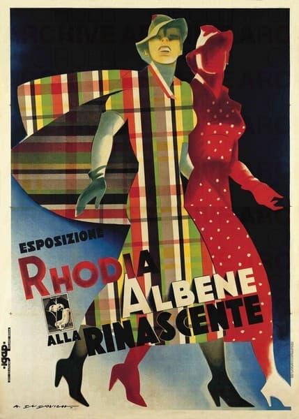 """Esposizione """"Rhodia Albene"""" alla Rinascente"""