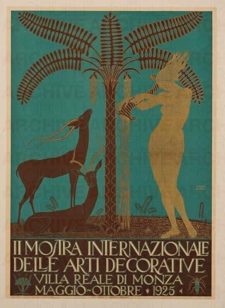 II Mostra Internazionale delle Arti Decorative