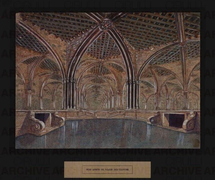 Esposizione Universale di Roma 1942 Primo aspetto del Palazzo dell'Illusione