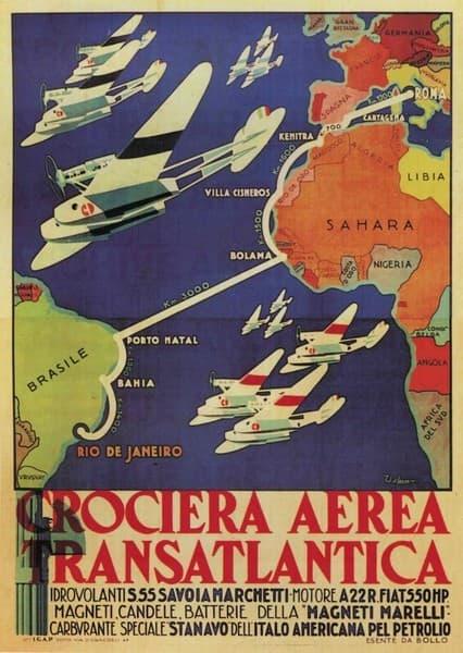 Crociera Aerea Transatlantica