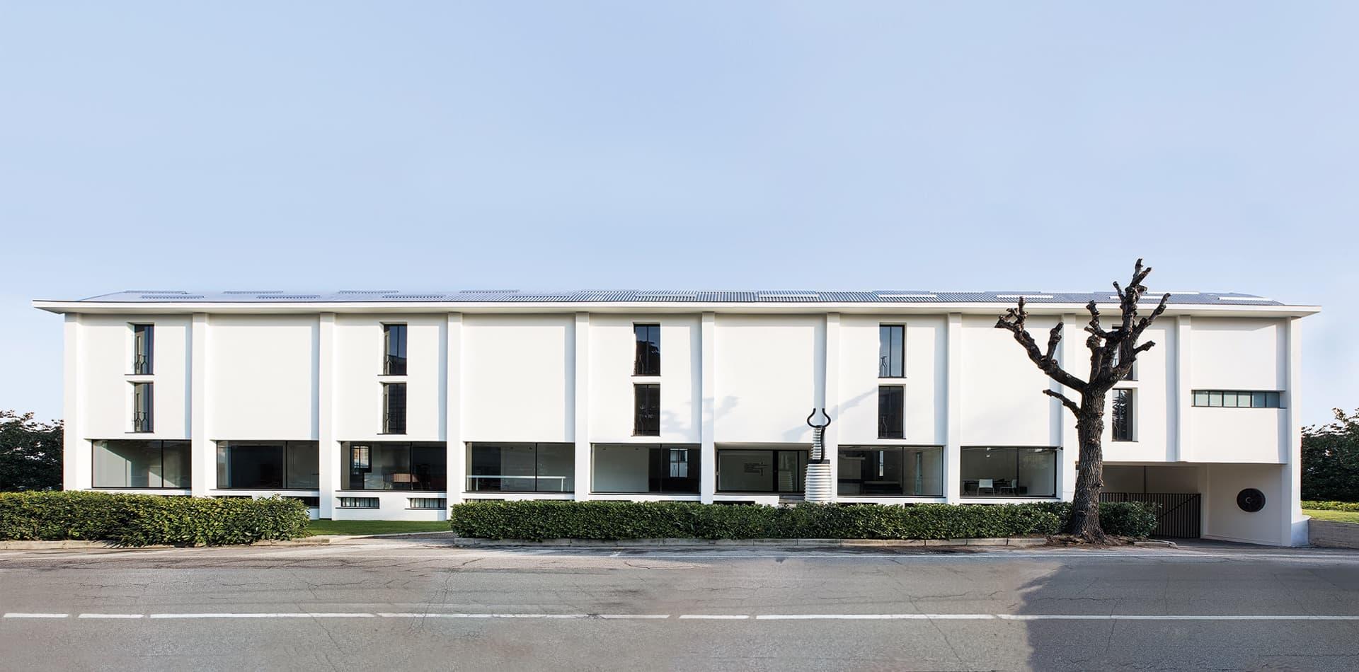 Fondazione Massimo e Sonia Cirulli. L'architettura
