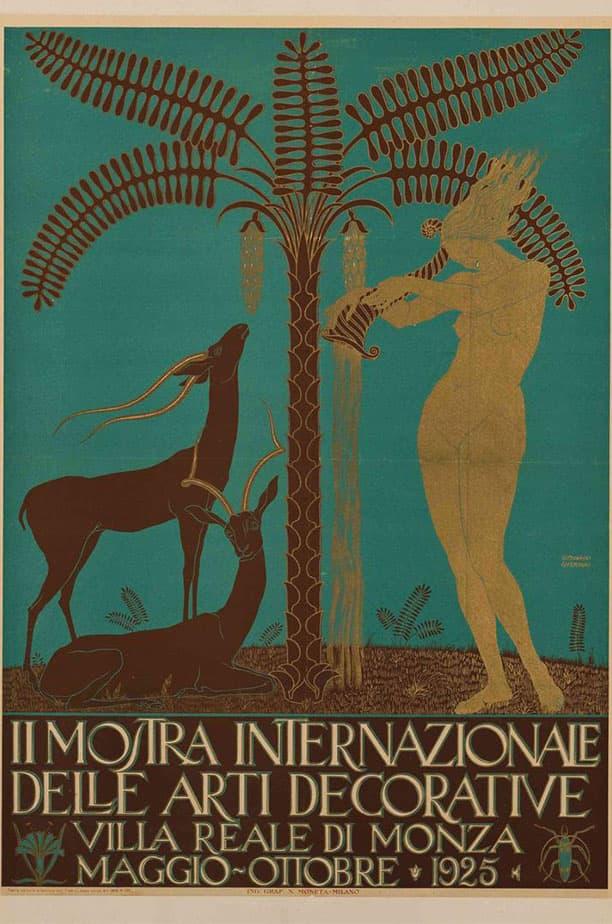 Giovanni Guerrini, II Mostra Internazionale delle Arti Decorative, 1925