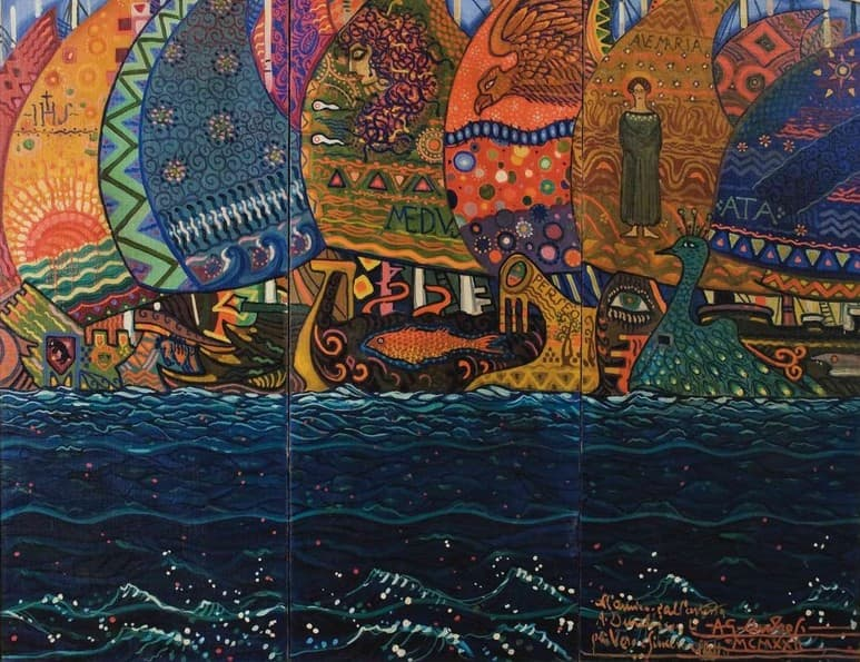 Orizzonti d'acqua tra pittura e arti decorative