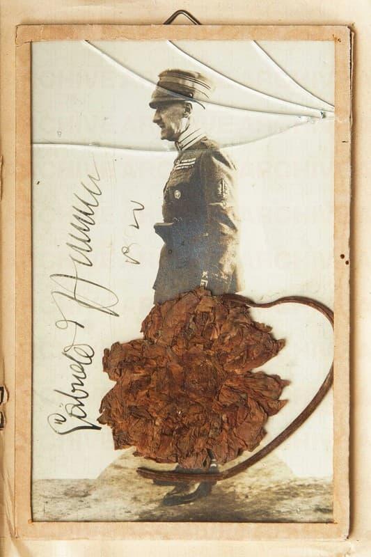 Cimelio del Volo su Vienna appartenuto a Gabriele d'Annunzio e regalato a Timina Caproni