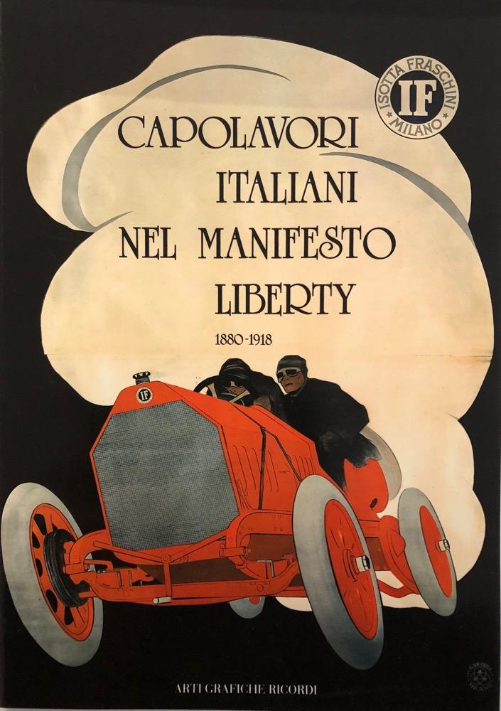 Capolavori italiani nel manifesto Liberty